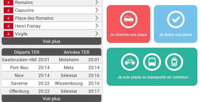 MyStrasbourgApp et Parkiz, nouvelles applications open data