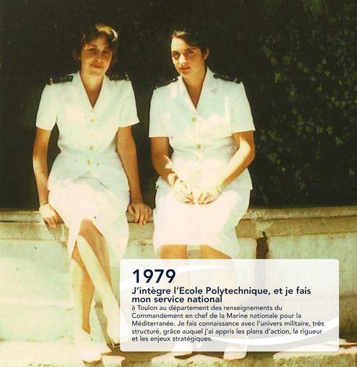 Le prestige de l'uniforme en 1979 à Toulon... (Photo Fabienne Keller 2014)