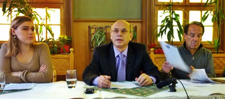 Jean-Luc Schaffhauser, observateur des élections des séparatistes ukrainiens dimanche