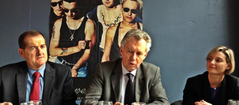 Claude Froehly, futur maire d'Illkirch-Graffenstaden suite au départ de Jacques Bigot