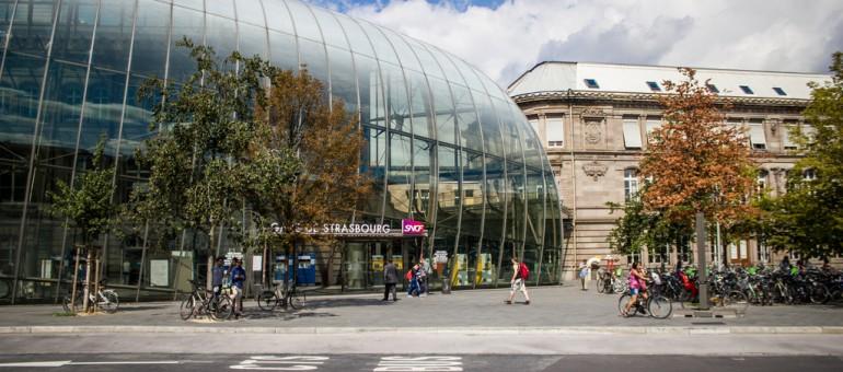 Pourquoi la gare de Strasbourg n'est pas (encore) ouverte à 360°