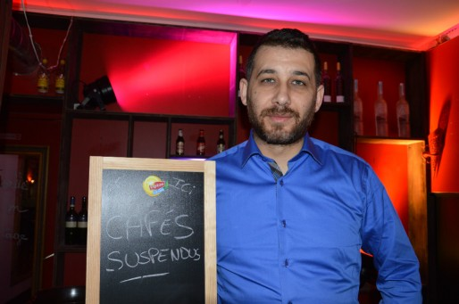 Maxence Killinc, gérant du restaurant Tapas Toro rue du Faubourg National (Photo FB / Rue89 Strasbourg)