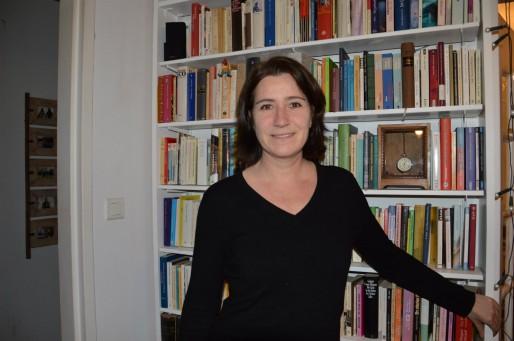 A côté de son activité de scénariste, Béatrice Meier travaille aussi en mi-temps à Arte (Photo FB / Rue89 Strasbourg)