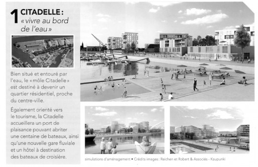 "La ""piscine Reichen"", une simple ""insertion esthétique"" selon la CUS (Visuel extrait du document distribué pendant la concertation d'octobre-novembre 2013)"