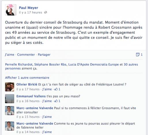 Capture Facebook Paul Meyer (MM)