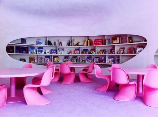 Bibliothèque de l'école Saint-Jean (Photo MM / Rue89 Strasbourg)