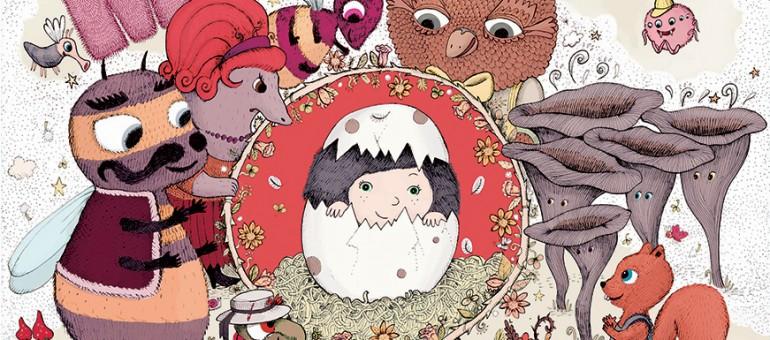 Marta des bois, un livre-disque pour enfants, à la mode des années 80