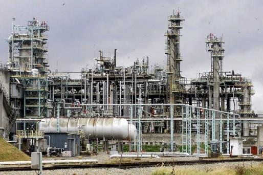 Une vue de la raffinerie de Reichstett (Photo Wikimedia Commons / cc)