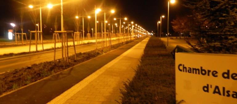 Boulevard de l'Europe: ces 100 lampadaires pour pas un chat