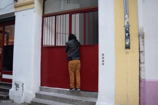 La porte d'entrée Rue Thiergarten (Photo Claudia Beaudoin/Rue 89 Strasbourg)
