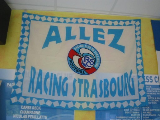 Un seul nom pour toujours : Racing Club de Strasbourg (Photo : Paolo)