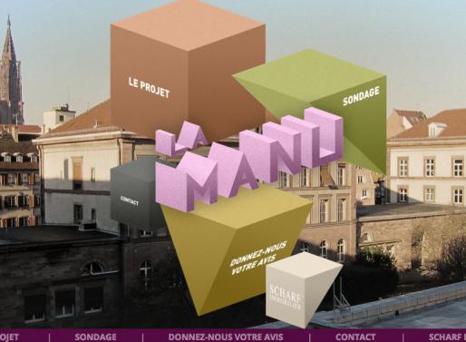 La Manu, un nouveau site sur la manufacture des tabacs lancé par le promoteur Jean-Sébastien Scharf (Capture MM)