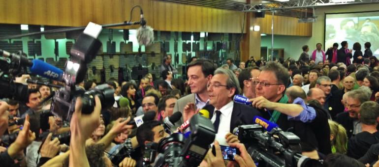 Réélu à Strasbourg, Roland Ries devient un maire «minoritaire»