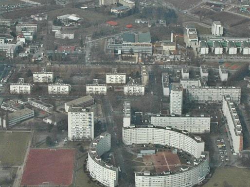 Une vue de la cité nucléaire de Cronenbourg à Strasbourg (Photo Fabien Romary / Archi-Strasbourg / cc)