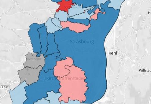 Municipales : à la CUS, la perte de Schiltigheim comprime la gauche