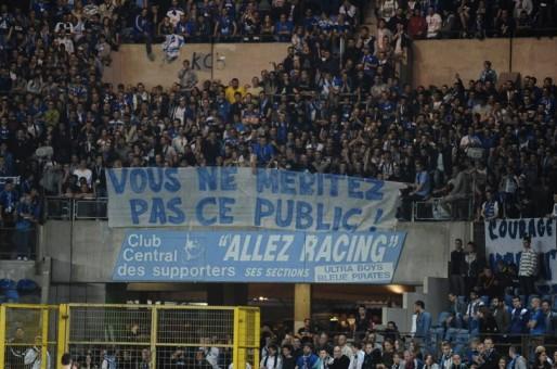 Dans les tribunes, l'agacement des supporters est perceptible... (Photo Denis Beylet)