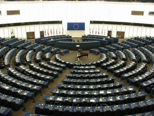 L'intérieur du Parlement européen (Photo Cédric Puisney / Wikimedia Commons / cc)