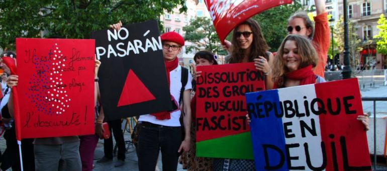 Manifestation contre le FN jeudi à Strasbourg
