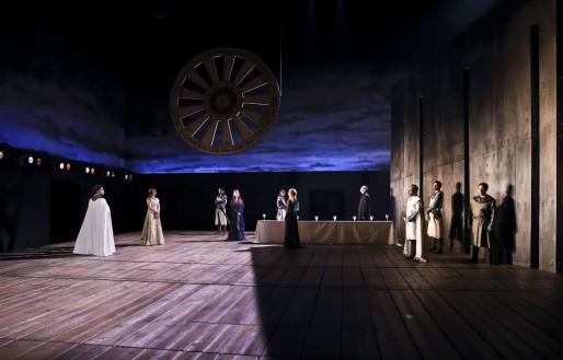 Perceval, le conte d'un héros hors de toute sauvagerie, au TNS du 6 au 23 mai à partir de 20H. Photo Micjel Cavalca / Théâtre National de Strasbourg.