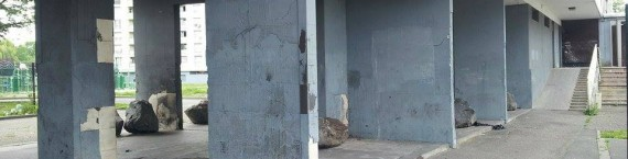 Plus de 163 opérations d'urbanisme ont été lancées dans le Neuhof, mais des tours insalubres restent encore à détruire. (Photo MG)