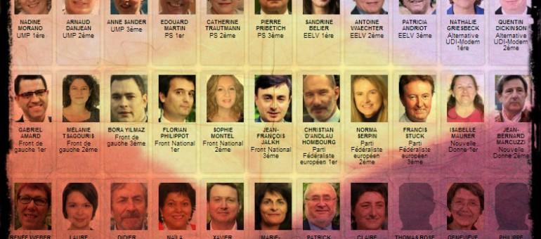 Européennes : faites connaissance avec vos candidats