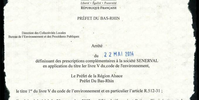 Usine d'incinération : l'État impose à Sénerval de réaliser des travaux d'urgence