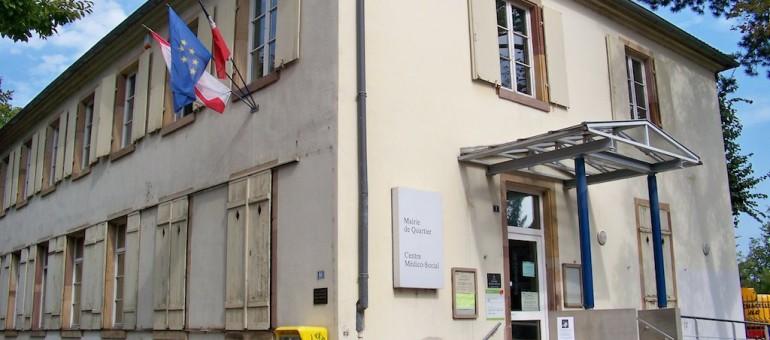 Aux heures de bureau, la mairie de quartier de la Robertsau est ouverte… ou pas