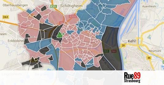 europ ennes les r sultats strasbourg par bureau de vote. Black Bedroom Furniture Sets. Home Design Ideas