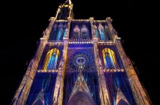 Illuminations de la Cathédrale de Strasbourg, été 2013 (doc remis)