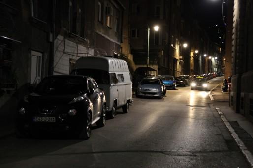 Bulli Sarajevo nuit