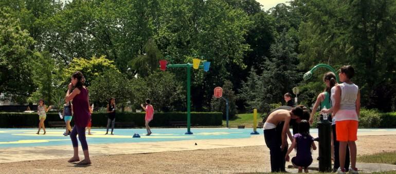 Parents en colère au parc de la Citadelle