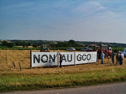 En 2005 déjà, le Collectif GCO Non Merci était mobilisé (doc collectif Non au GCO)