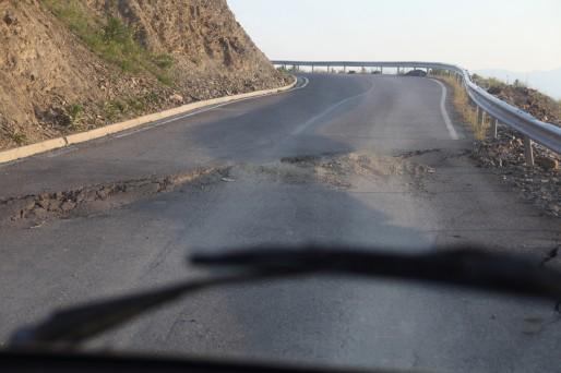 route Albanie