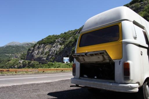 route montagne monténégro