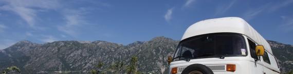 route monténégro