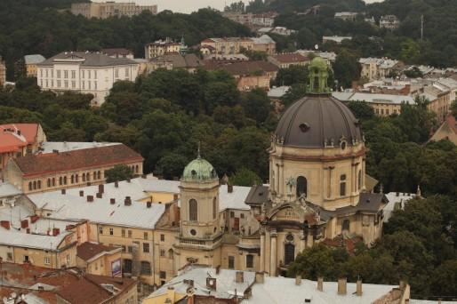 La ville de Lviv est située à l'ouest du pays. Pendant les manifestations de cet hiver, elle a été le bastion des pro-européens. (Photo Bulli Tour)