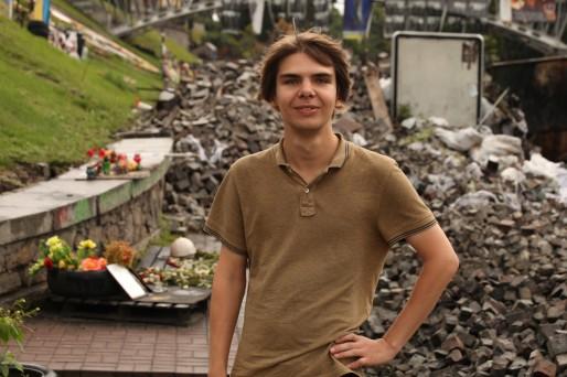 Georgii évoque l'insécurité à Donetsk: plus personne ne sort, sauf pour se ravitailler, c'est comme un siège.