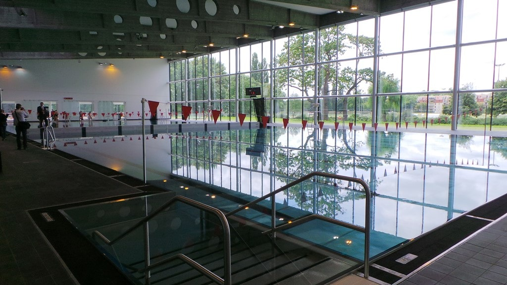 R ouverture de la piscine de la kibitzenau plus lumineuse - La salle les alpes office du tourisme ...