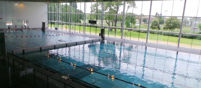 Réouverture de la piscine de la Kibitzenau, plus lumineuse