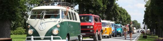 Le Bulli a rejoint le cortège de combis de collection dans la capitale roumaine.