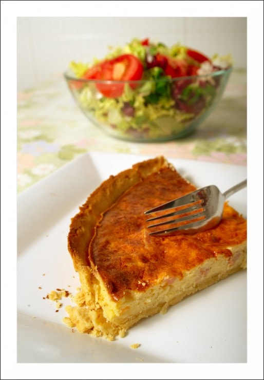 Une quiche lorraine (Photo Roger Ferrer Ibáñez / Flickr / cc)