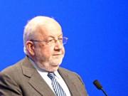 André Rossinot pendant un meeting en 2012 (Photo Wikimedia Commons)