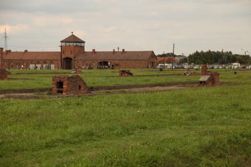 L'ancien camp d'Auschwitz jouxte la ville d'Oswiecim.