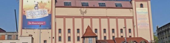 La bâtiment de la brasserie Fischer (Wikipédia / cc)