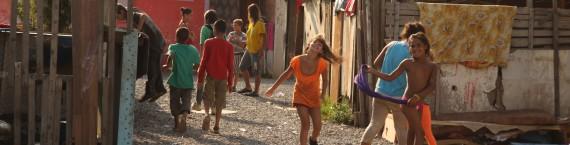 Quelque 800 Roms slovaques vivent dans le bidonville de Moldava nad Bodvou.