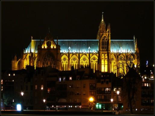 La cathédrale Saint-Étienne de Metz. (Photo Johann-Juergen Mohr / Flickr / cc)