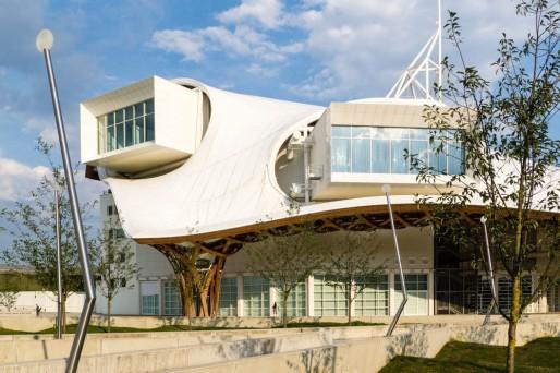 Le bâtiment du Centre Pompidou-Metz. (Photo cerfon / Flickr /cc)