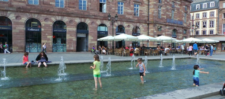Canicule à Strasbourg: le guide de survie