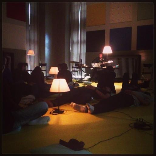 Un concert sous casque lors de l'édition précédente. (Photo CB / Rue89 Strasbourg / cc)