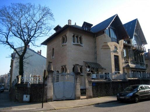 La villa Majorelle, maison de maître de Louis Majorelle construire par Henri Sauvage et Lucien Weissenburger. (Photo Flickr / Marie / cc)